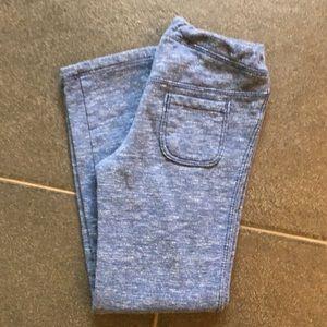 Gymboree girls blue track pants size 5t